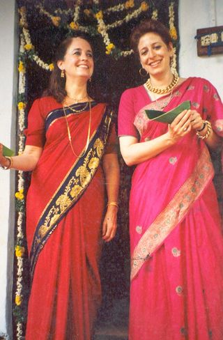 Chou & CD in India 1983