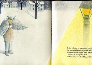 Owl friend snow041