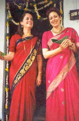 Chou & CD in India 1983